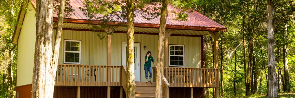 Willowbrook Cabins in Southern Illinois
