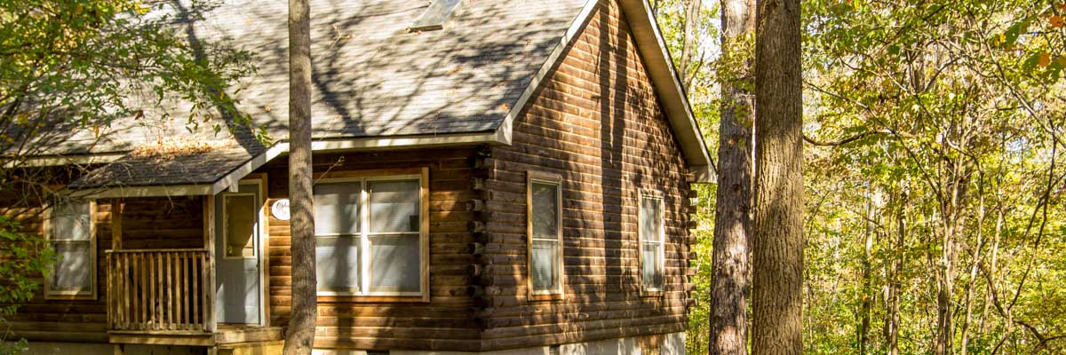 Log Cabin on Southern Illinois Wine Trail
