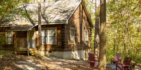 Rustic Hideaway Cabins - Southern Illinois Cabin