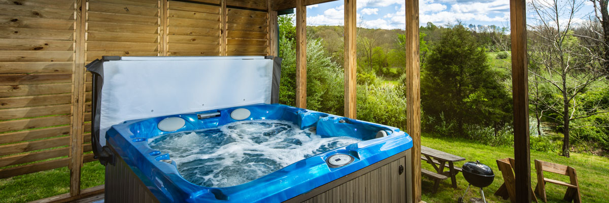 Southern Illinois Cabins with Hot Tubs