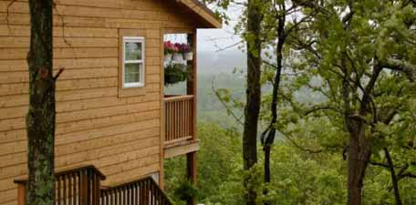 Skyline View Cabins near the Shawnee Hills Wine Trail